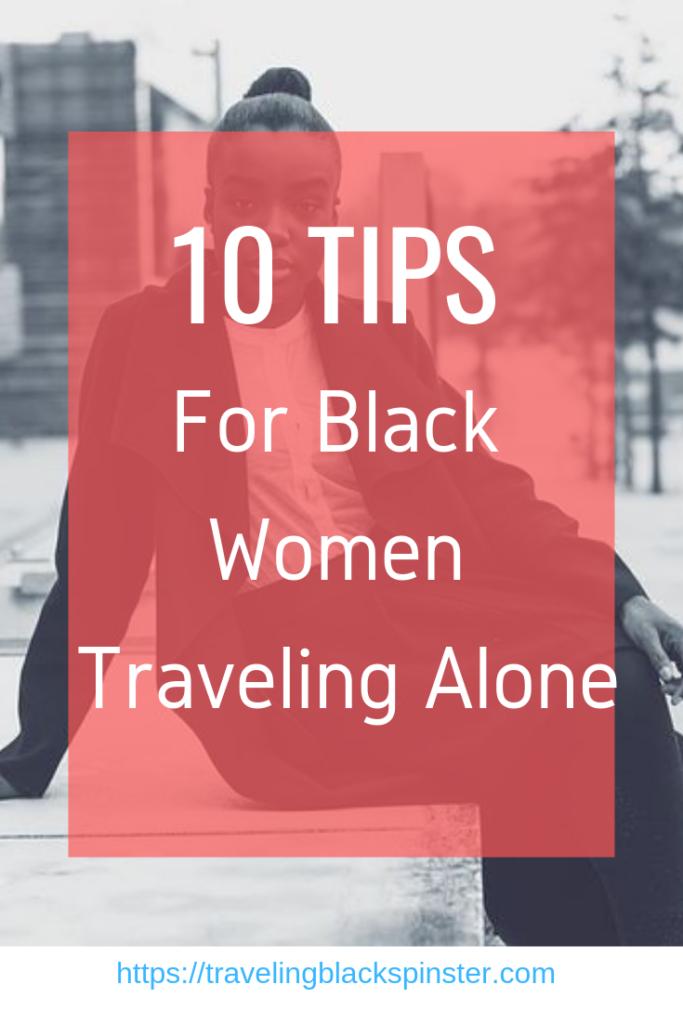 Black female traveling alone featured image