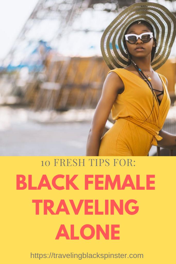 black female traveling alone second image
